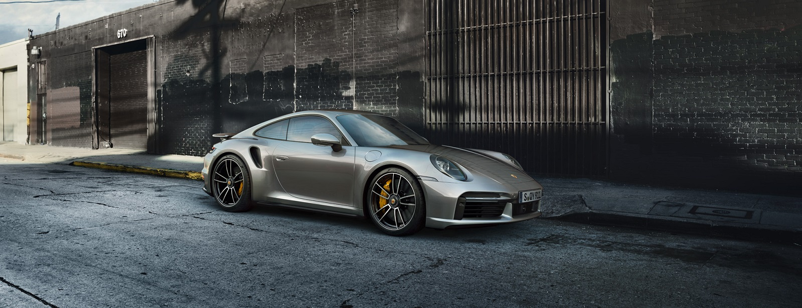 New 911 Turbo S.